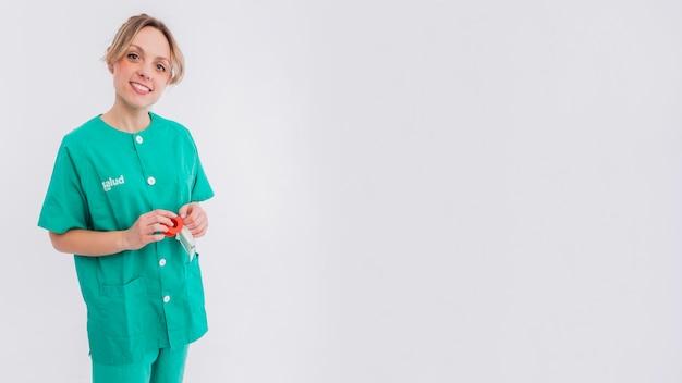 Портрет медсестры