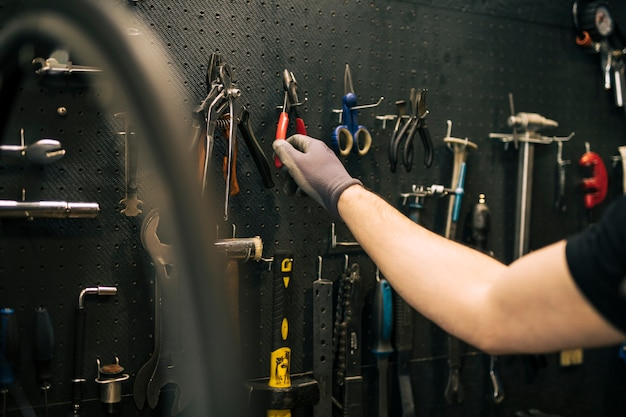 自転車修理店