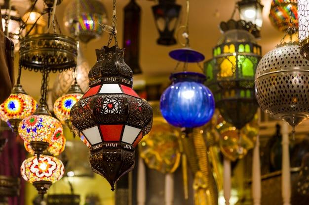 モロッコのランプ
