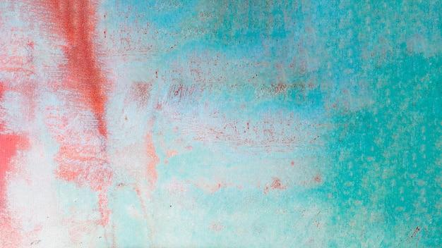 色とりどりのぼろぼろの壁の質感