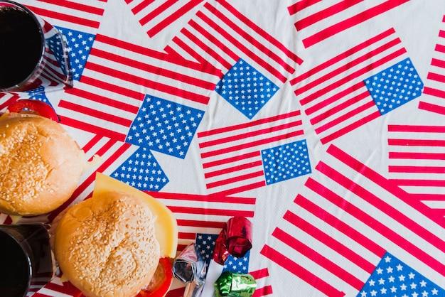 独立記念日のシンボルと扱い