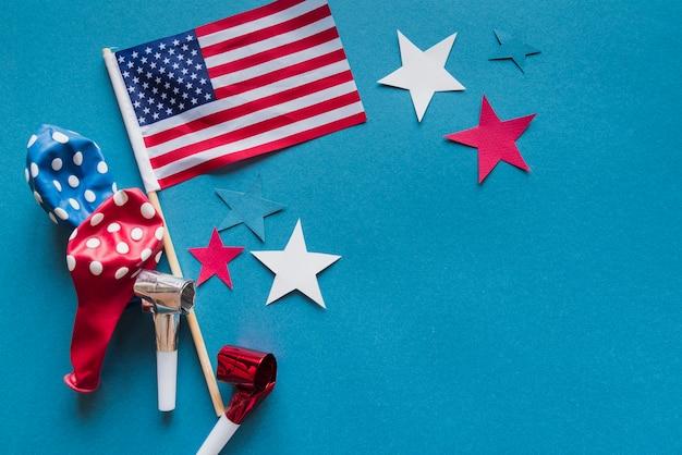 独立記念日のためのお祝いアクセサリー