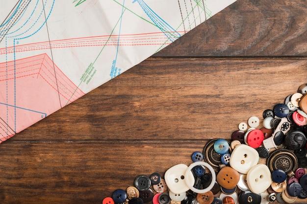 縫製ボタン