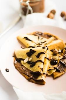 チョコレートクレープ