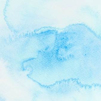 抽象的なブルーの水彩画の背景