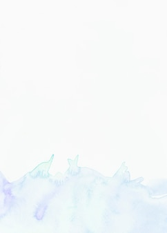 白い背景の水彩画のスプラッシュ