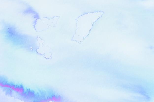 Синяя акварель текстуру фона