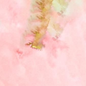 アクワレル抽象的な手描きの汚れ背景