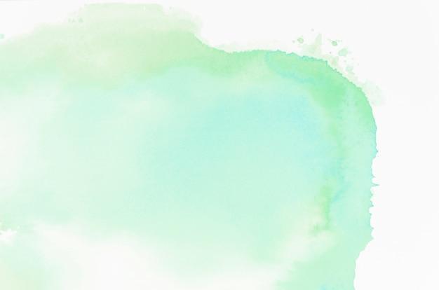 緑の抽象的な水彩画のテクスチャ背景