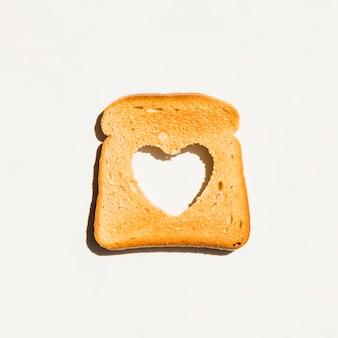 トーストしたパンのスライス