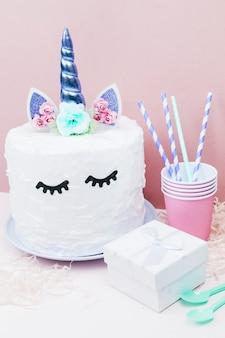 ユニコーンケーキ