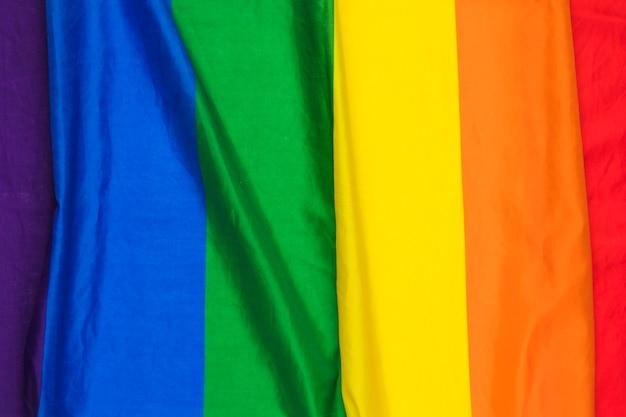 明るい波紋の虹布