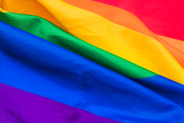 Складки радужного флага