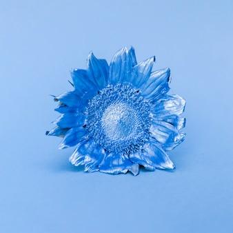 青いひまわり