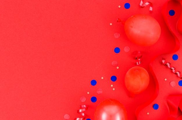 Разноцветные воздушные шары на день рождения