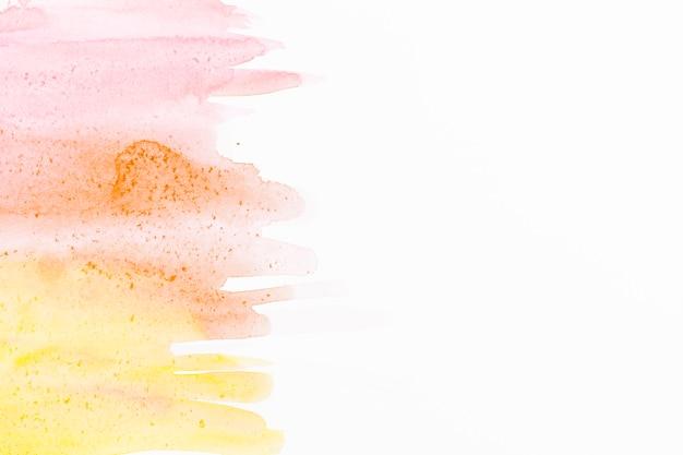 水彩抽象ブラシストロークの背景