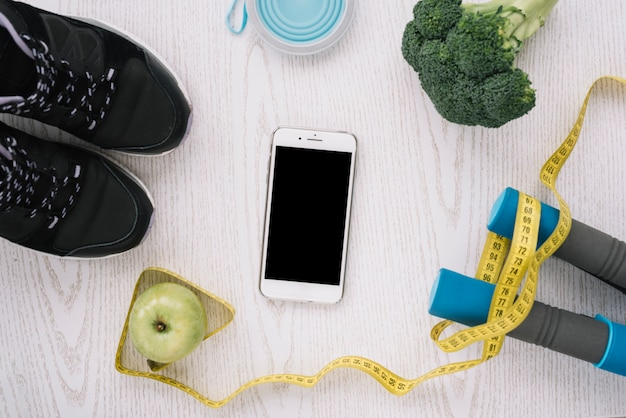 Здоровое питание и спортивное снаряжение