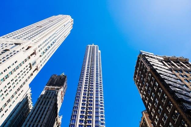 近代的な都市建築
