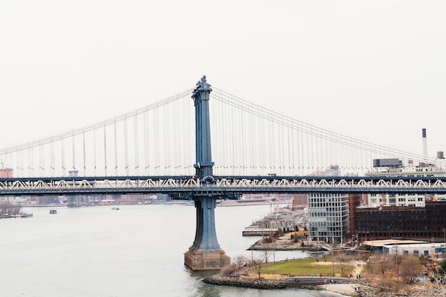 Бруклинский мост и нью-йорк