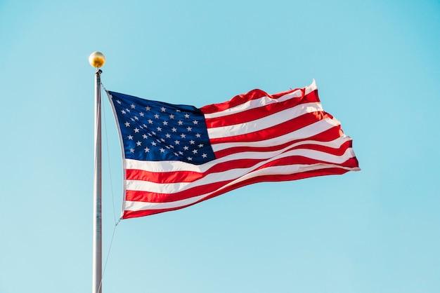 アメリカ合衆国の旗