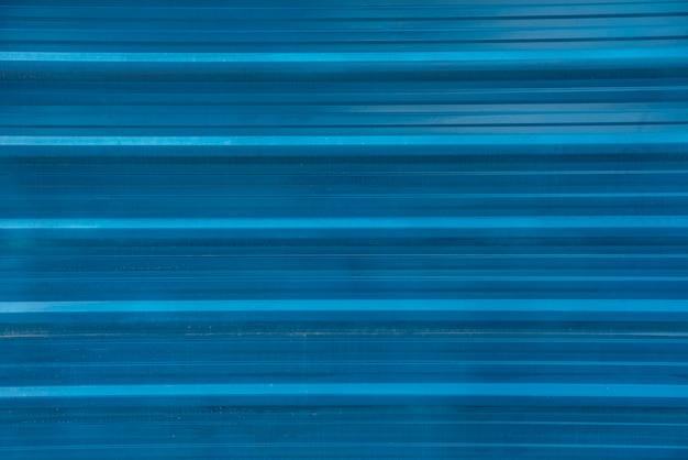 青い鋼鉄壁のテクスチャ背景