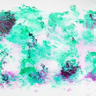乱雑なカラフルな抽象的な汚れたマニキュアの背景