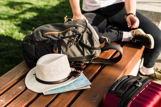 旅行する人の要素