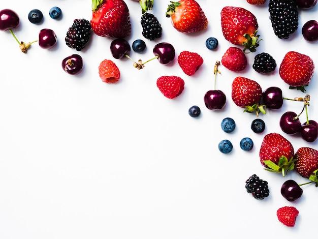 果実の創造的なレイアウト