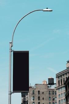 都市環境におけるビルボードテンプレート