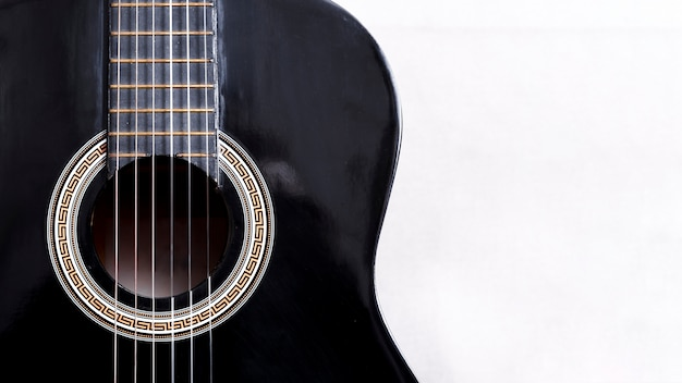 Гитара крупным планом