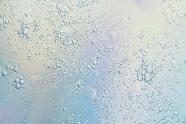 抽象的な小さな様々な泡の質感