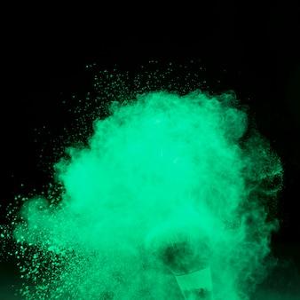 Заморозить движение от пыли большой кистью