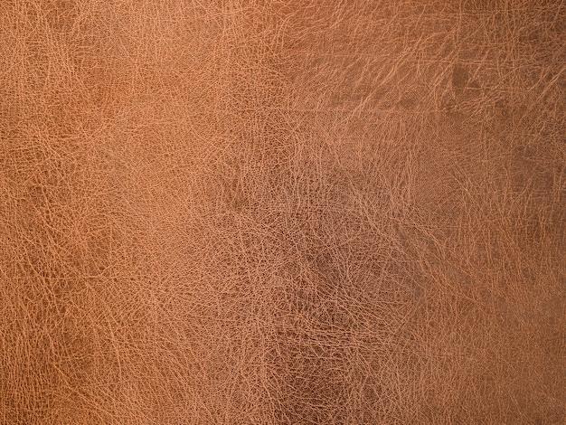 茶色の革のテクスチャ背景