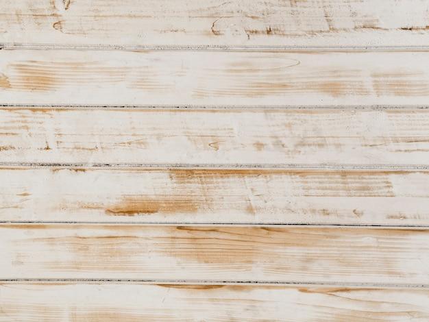 木製の背景のテクスチャホワイト塗装