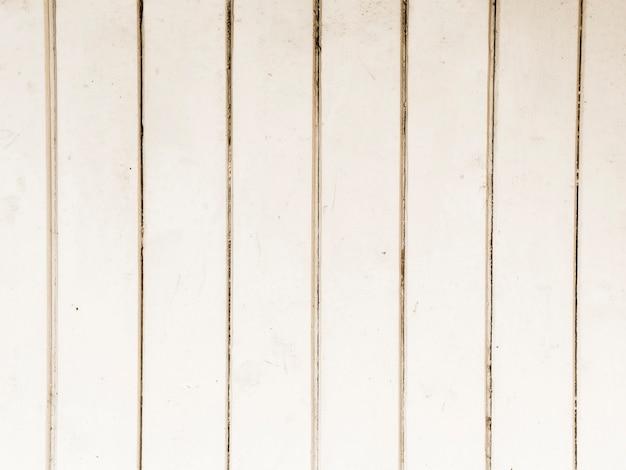テクスチャの白い木製のテーブルの背景