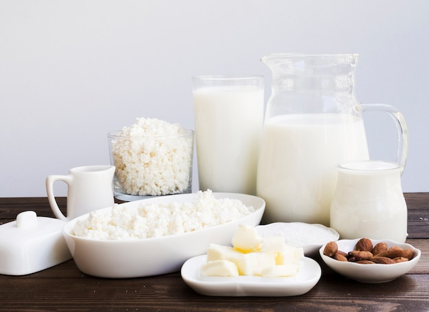 Молоко, творог и молочные продукты