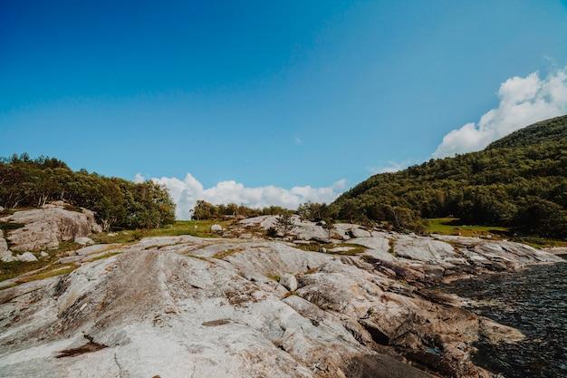 岩だらけの風景