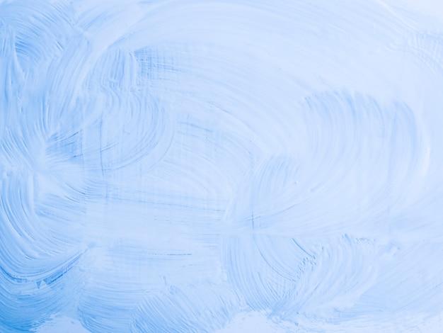 Минималистская голубая живопись