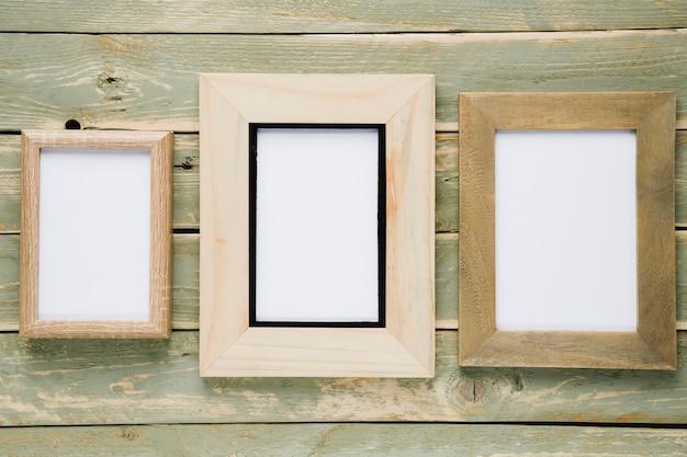 Рамки разных размеров с пустым пространством
