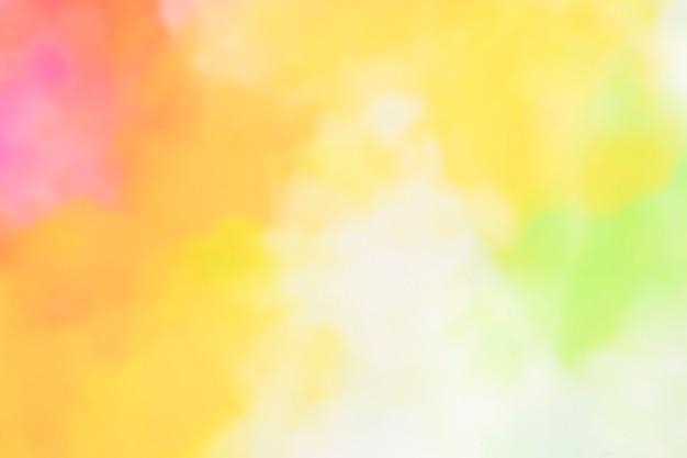 抽象的な暖かい水彩画の背景