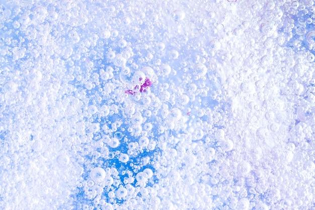 Переполненный пузырь фон под водой