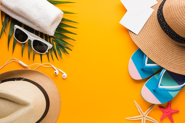 Квартира заложить летние каникулы концепции с копией пространства