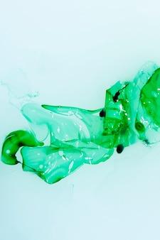 抽象的なツイスト水彩コンセプト