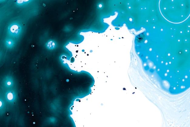 油の宇宙の抽象的な銀河