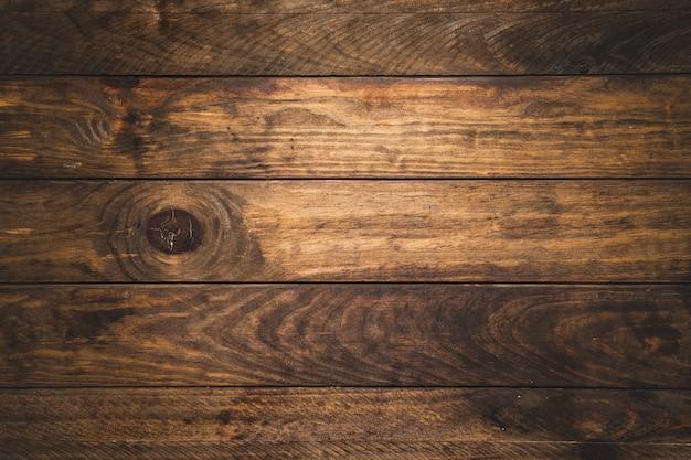 トップビューの木製の背景