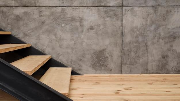 クローズアップモダンな工業用階段