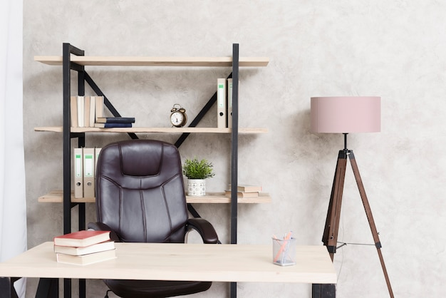Макро современный минималистский стол