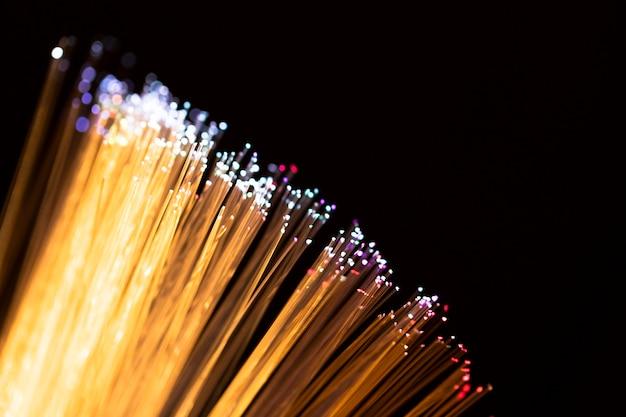 Волоконная оптика фары абстрактный фон