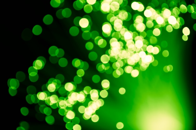 多重グリーンライト光ファイバ