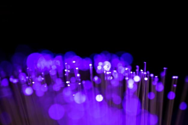 光ファイバーライトの抽象的な背景